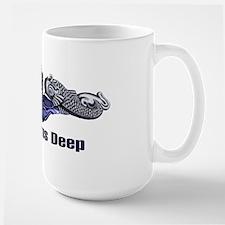 Pride Runs Deep -- SILVER Mug