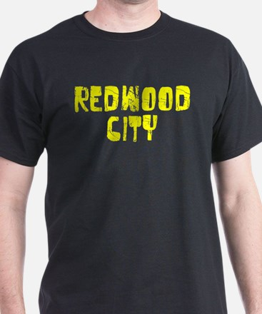 Redwood City Faded (Gold) T-Shirt