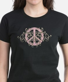 Peace sign with swirls Tee