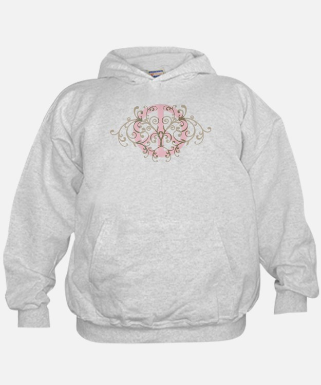 Peace sign with swirls Hoodie