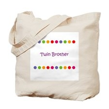 Twin Brother Tote Bag