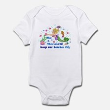 Be A Mermaid Infant Bodysuit