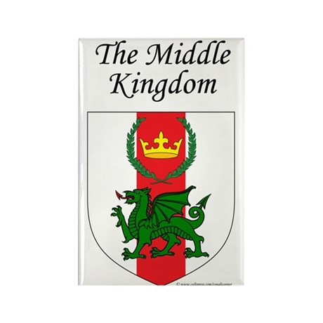 Middle Kingdom Rectangle Magnet (100 pack)