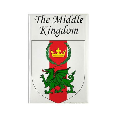 Middle Kingdom Rectangle Magnet (10 pack)
