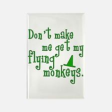 Flying Monkeys Rectangle Magnet (10 pack)