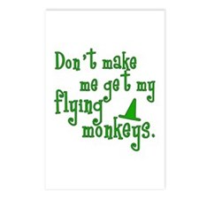 Flying Monkeys Postcards (Package of 8)