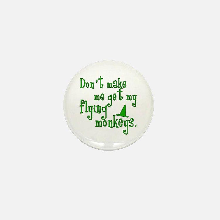 Flying Monkeys Mini Button