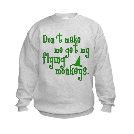 Flying Monkeys Kids Sweatshirt