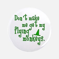 "Flying Monkeys 3.5"" Button"
