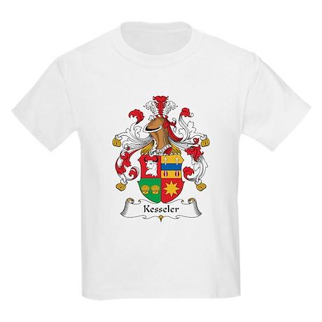 Kesseler Family Crest Kids Light T-Shirt