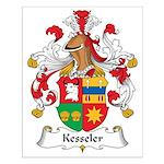 Kesseler Family Crest Small Poster