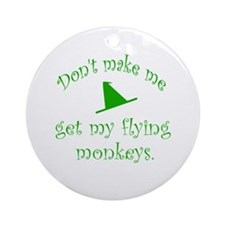 Flying Monkeys Ornament (Round)