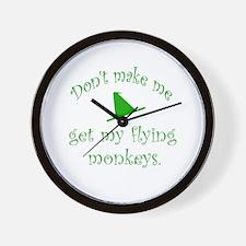 Flying Monkeys Wall Clock