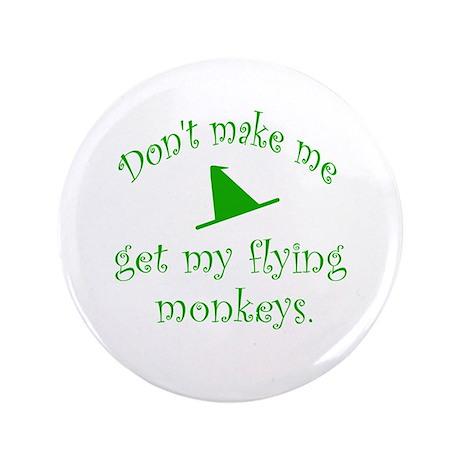 "Flying Monkeys 3.5"" Button (100 pack)"