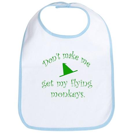 Flying Monkeys Bib