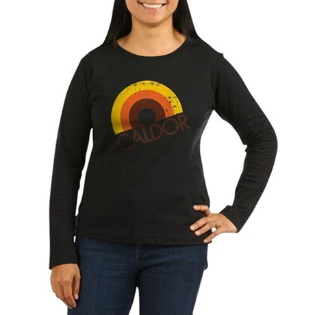 Caldor Disount Bin Women's Long Sleeve Dark T-Shir