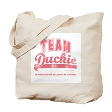 Team Duckie Tote Bag