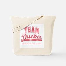 Team Duckie Tote Bag