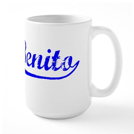 Vintage San Benito (Blue) Large Mug