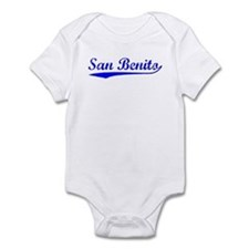 Vintage San Benito (Blue) Infant Bodysuit