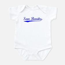 Vintage San Benito (Blue) Infant Bodysuit