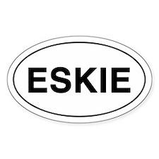 ESKIE Oval Decal
