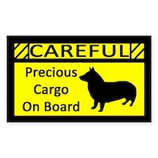 Precious Cargo Swedish Vallhund Sticker (Rect)