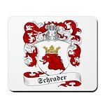 Schrader Family Crest Mousepad