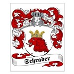 Schrader Family Crest Small Poster