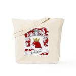 Schrader Family Crest Tote Bag