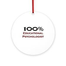 100 Percent Educational Psychologist Ornament (Rou