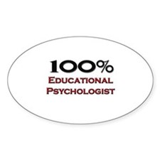 100 Percent Educational Psychologist Decal