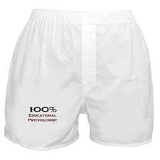100 Percent Educational Psychologist Boxer Shorts