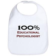 100 Percent Educational Psychologist Bib