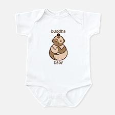 Om Buddha Baby : Flesh Tones Infant Bodysuit