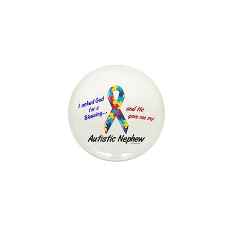 Blessing 3 (Autistic Nephew) Mini Button