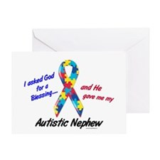 Blessing 3 (Autistic Nephew) Greeting Card