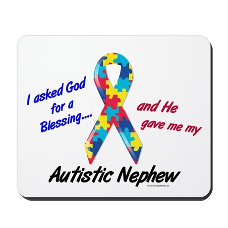 Blessing 3 (Autistic Nephew) Mousepad