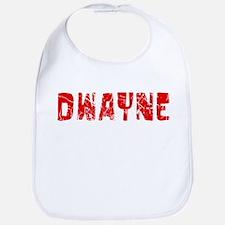 Dwayne Faded (Red) Bib