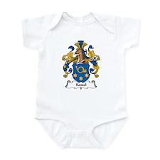 Kessel Family Crest Infant Bodysuit