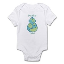 Happy Buddha Baby : Blue & Green Infant Bodysu