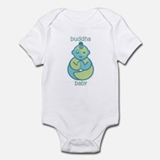 Happy Buddha Baby : Blue & Green Infant Bodysu