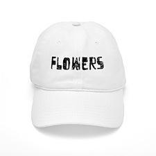 Flowers Faded (Black) Baseball Cap