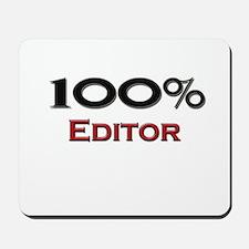 100 Percent Editor Mousepad