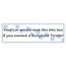 Your Car Sealyham Terrier Bumper Bumper Sticker