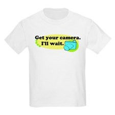 Get your camera Kids Light T-Shirt
