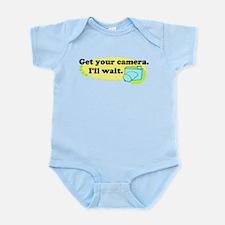 Get your camera Infant Bodysuit