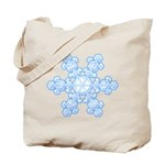 Flurry Snowflake XVII Tote Bag