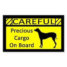 Precious Cargo Rhodesian Ridgeback Sticker (Rect)