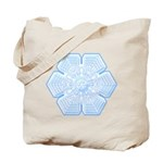 Flurry Snowflake XVI Tote Bag